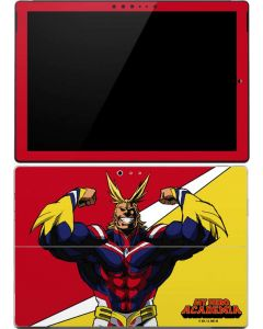 All Might Surface Pro 4 Skin