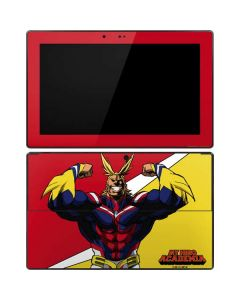 All Might Surface Pro Tablet Skin