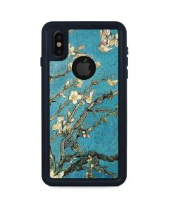 Almond Branches in Bloom iPhone XS Waterproof Case