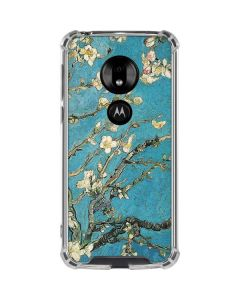 Almond Branches in Bloom Moto G7 Play Clear Case