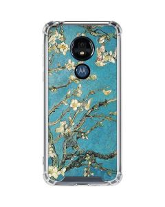 Almond Branches in Bloom Moto G7 Power Clear Case