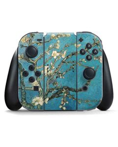 Almond Branches in Bloom Nintendo Switch Joy Con Controller Skin