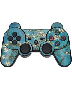 Almond Branches in Bloom PS3 Dual Shock wireless controller Skin