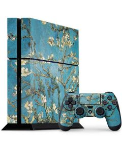 Almond Branches in Bloom PS4 Console and Controller Bundle Skin