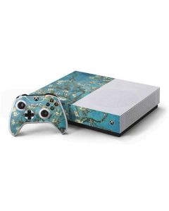 Almond Branches in Bloom Xbox One S All-Digital Edition Bundle Skin