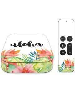 Aloha Apple TV Skin