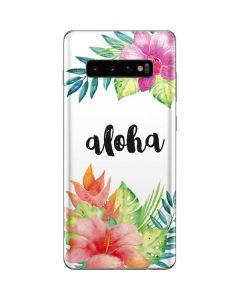 Aloha Galaxy S10 Plus Skin