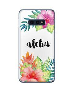 Aloha Galaxy S10e Skin