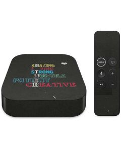 Amazing Loving Strong Apple TV Skin