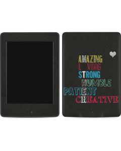 Amazing Loving Strong Amazon Kindle Skin