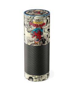 Amazing Spider-Man Comic Amazon Echo Skin