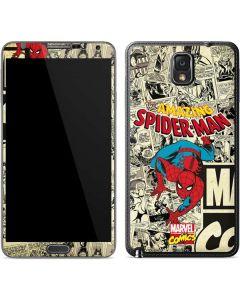 Amazing Spider-Man Comic Galaxy Note 3 Skin