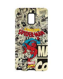 Amazing Spider-Man Comic Galaxy Note 4 Pro Case