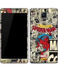 Amazing Spider-Man Comic Galaxy Note 4 Skin