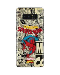 Amazing Spider-Man Comic Galaxy Note 8 Skin