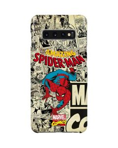 Amazing Spider-Man Comic Galaxy S10 Plus Lite Case