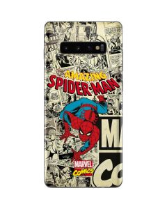 Amazing Spider-Man Comic Galaxy S10 Plus Skin
