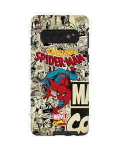 Amazing Spider-Man Comic Galaxy S10 Pro Case