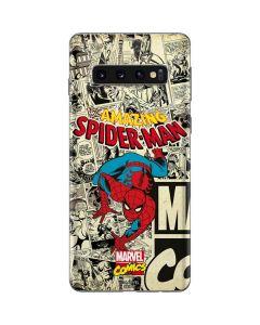 Amazing Spider-Man Comic Galaxy S10 Skin