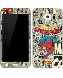 Amazing Spider-Man Comic Galaxy S6 Edge Skin
