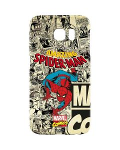 Amazing Spider-Man Comic Galaxy S6 Lite Case