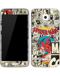 Amazing Spider-Man Comic Galaxy S6 Skin