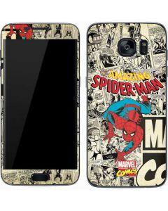 Amazing Spider-Man Comic Galaxy S7 Skin