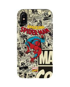 Amazing Spider-Man Comic iPhone X Pro Case