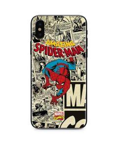 Amazing Spider-Man Comic iPhone X Skin