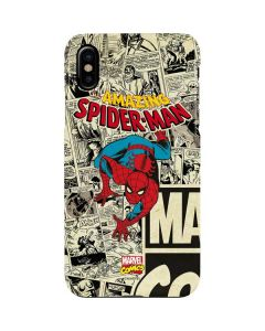 Amazing Spider-Man Comic iPhone XS Lite Case