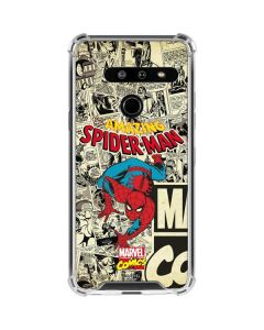 Amazing Spider-Man Comic LG G8 ThinQ Clear Case