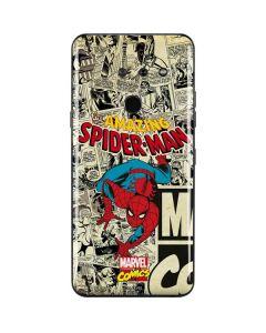 Amazing Spider-Man Comic LG G8 ThinQ Skin