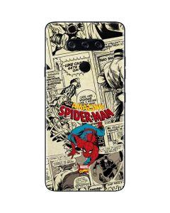 Amazing Spider-Man Comic LG V40 ThinQ Skin