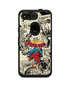 Amazing Spider-Man Comic LifeProof Fre Google Skin