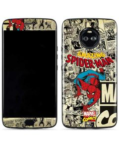 Amazing Spider-Man Comic Moto X4 Skin