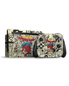Amazing Spider-Man Comic Nintendo Switch Bundle Skin