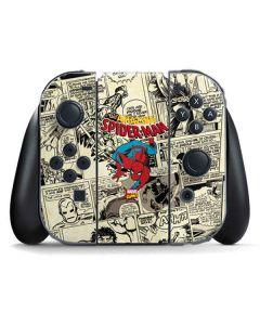 Amazing Spider-Man Comic Nintendo Switch Joy Con Controller Skin