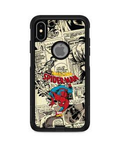 Amazing Spider-Man Comic Otterbox Commuter iPhone Skin