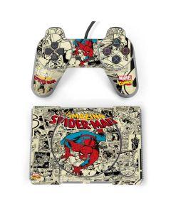 Amazing Spider-Man Comic PlayStation Classic Bundle Skin