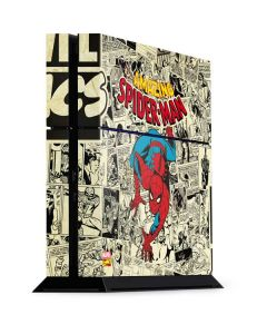 Amazing Spider-Man Comic PS4 Console Skin