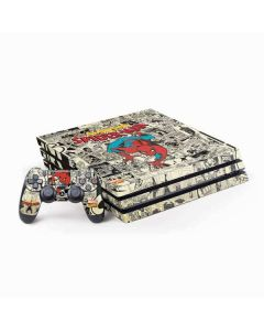 Amazing Spider-Man Comic PS4 Pro Bundle Skin