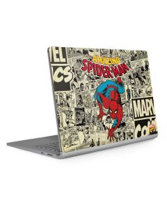 Amazing Spider-Man Comic Surface Book 2 13.5in Skin