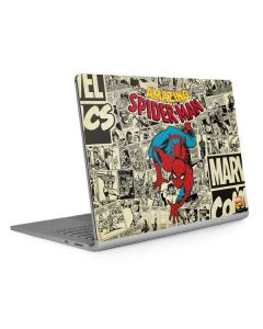 Amazing Spider-Man Comic Surface Book 2 15in Skin