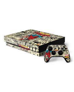 Amazing Spider-Man Comic Xbox One X Bundle Skin