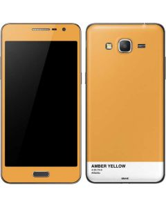 Amber Yellow Galaxy Grand Prime Skin