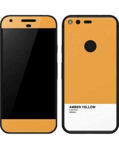 Amber Yellow Google Pixel Skin