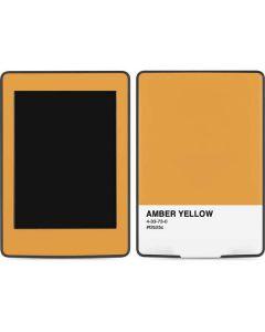 Amber Yellow Amazon Kindle Skin