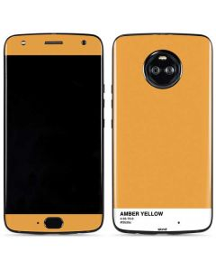 Amber Yellow Moto X4 Skin