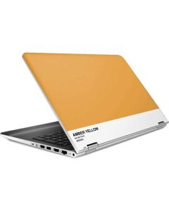 Amber Yellow HP Pavilion Skin