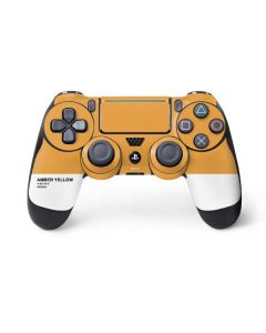 Amber Yellow PS4 Pro/Slim Controller Skin